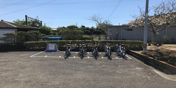 日向新富駅ポート